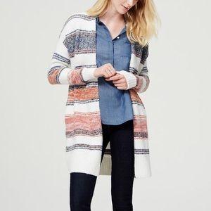 LOFT Stripe Cardigan